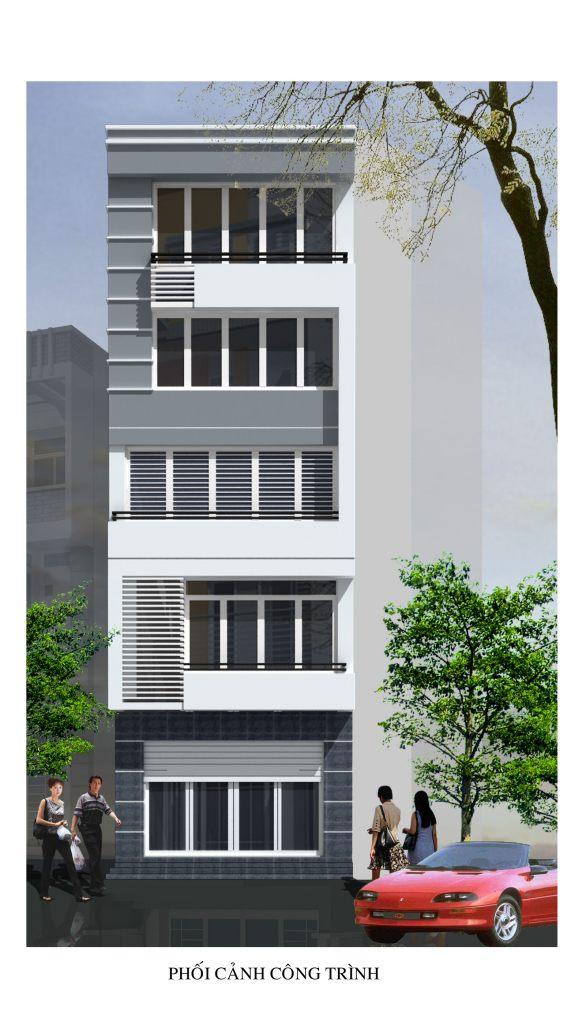 Nhà ở phân chia lô đẹp mặt phố hiện đại -ảnh 2