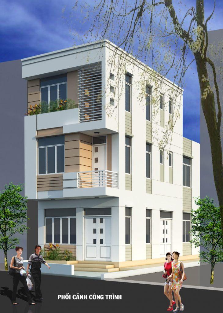 Nhà ở phân chia lô đẹp mặt phố hiện đại -ảnh 3