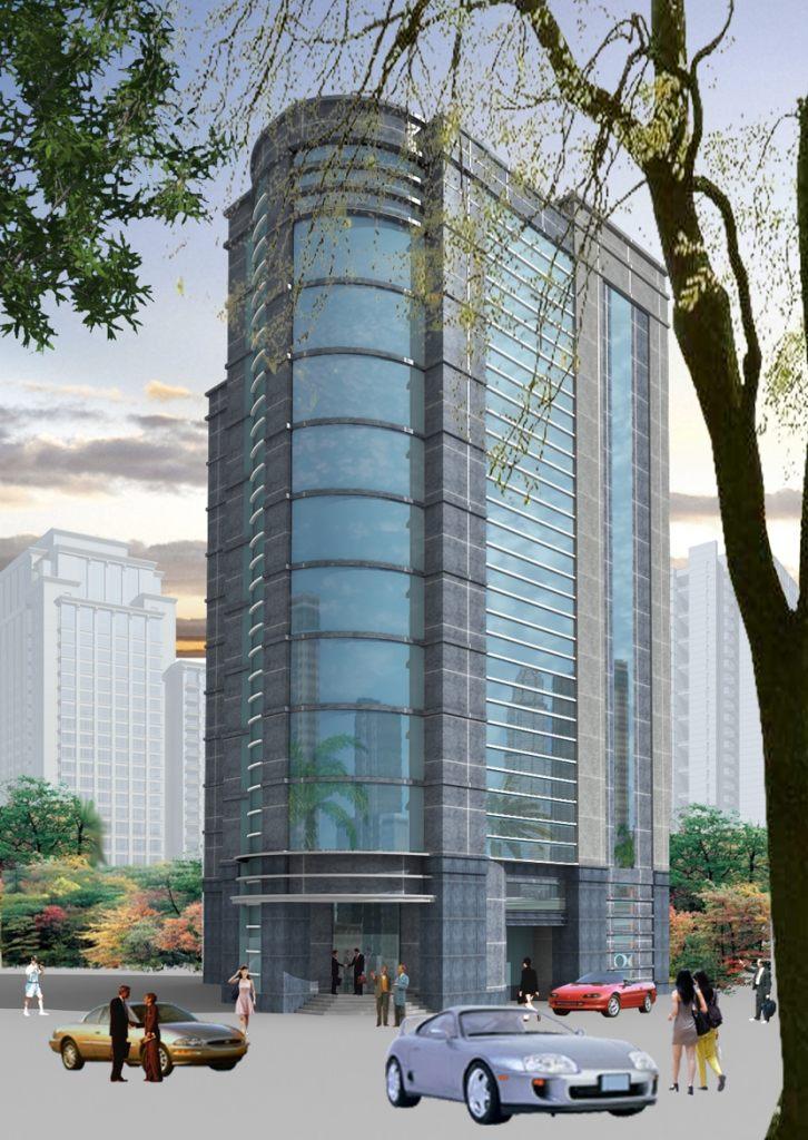 Khách sạn Nhà cao tầng đẹp-Văn phòng hiện đại cho thuê- thiết kế theo xem phong thủy-Ảnh2