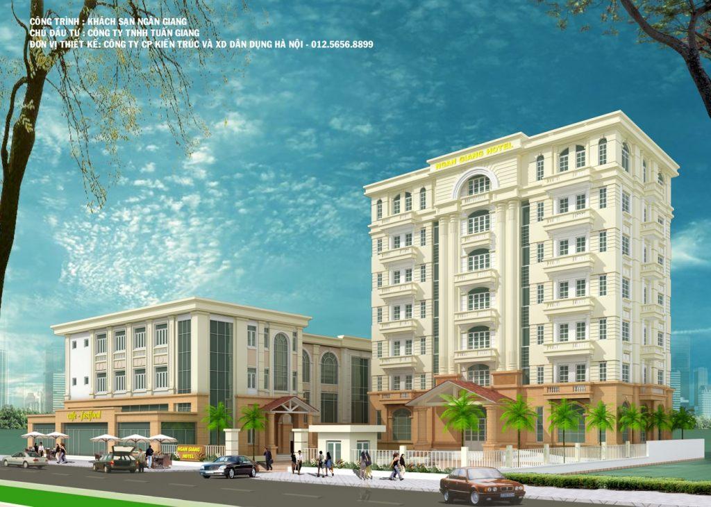 Khách sạn Nhà cao tầng pháp cổ -Văn phòng đẹp cho thuê- thiết kế theo xem phong thủy-Ảnh1