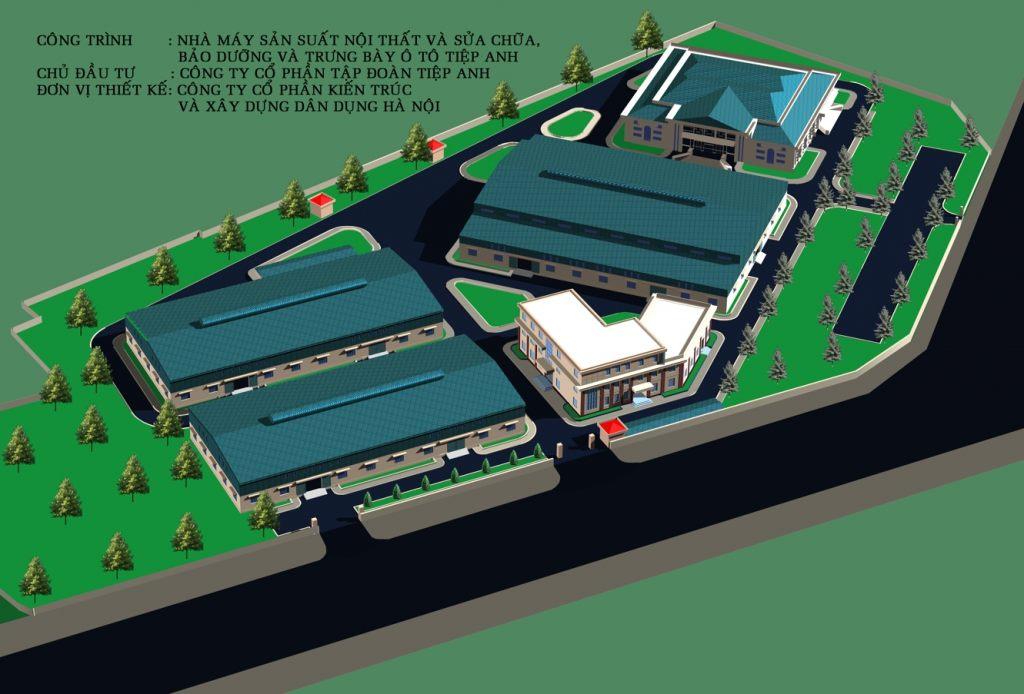 Khu công nghiệp Nhà máy Nhà điều hành thiết kế theo xem phong thủy- ảnh2
