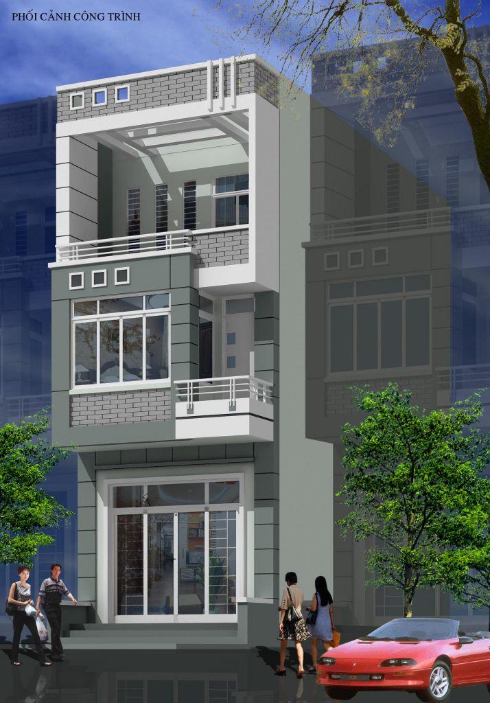 Nhà ở phân chia lô đẹp mặt phố hiện đại - ảnh 6