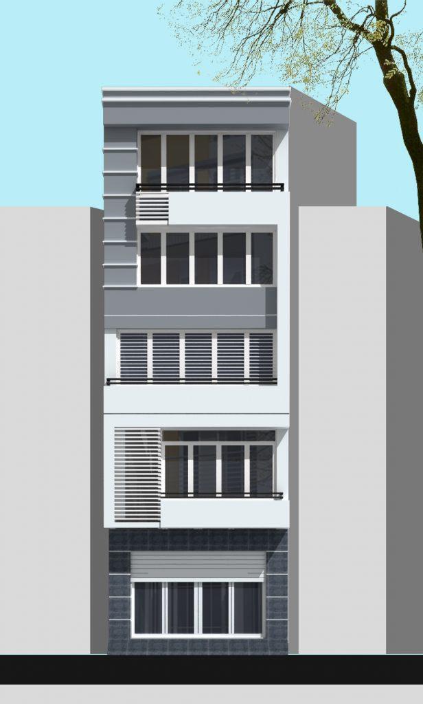 Nhà ở phân chia lô đẹp mặt phố hiện đại - ảnh 7