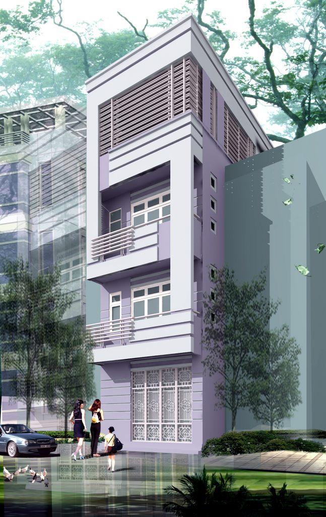 Nhà ở phân chia lô pháp hiện đại mặt phố đẹp - ảnh 11