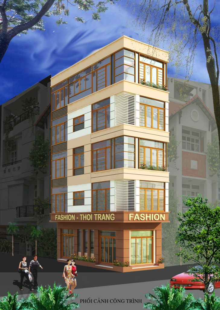 Thiết kế Nhà ở Mặt phố phân chia lô đẹp hiện đại theo xem phong thủy