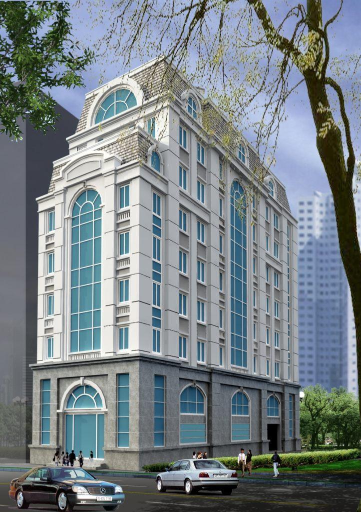 Trụ sở làm việc Kiến trúc pháp cổ - Văn phòng Cơ Quan - Nhà cao tầng đẹp - Nhà làm việc-Ảnh2