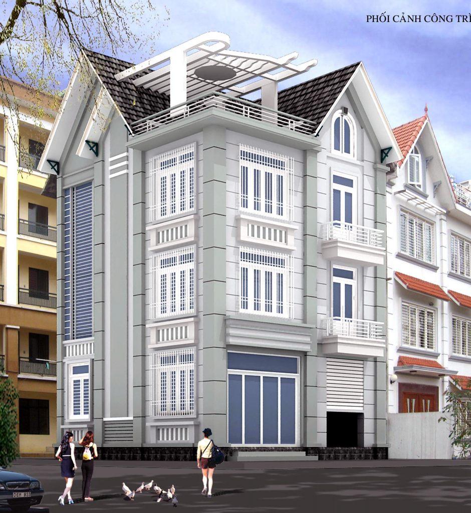 Biệt Thự hiện đại 3 tầng thiết kế nhà ở đẹp - Ảnh1