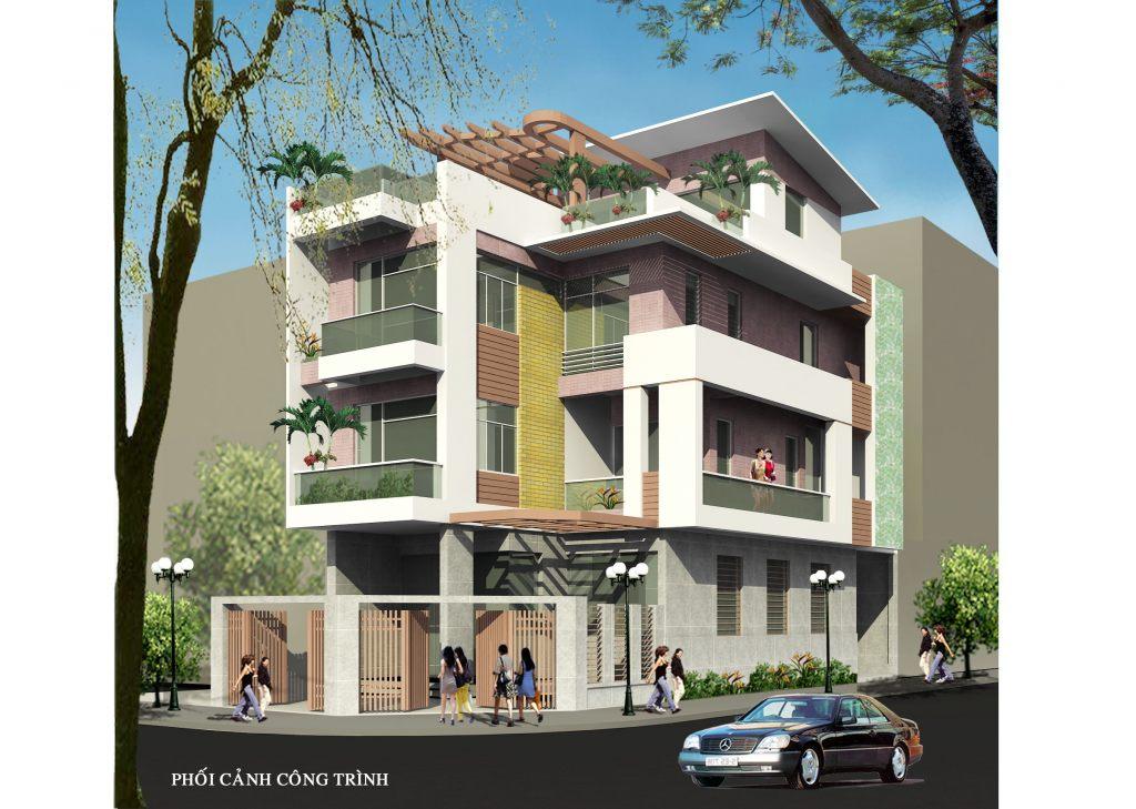 Biệt Thự hiện đại 3 tầng thiết kế nhà ở đẹp-Ảnh1