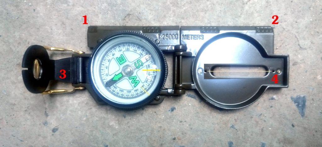 Hướng dẫn đo Cửa chính Nhà ở Bằng La bàn cơ cách dùng phương pháp xác định