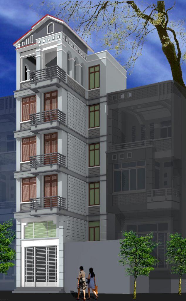 Nhà ở phân chia lô pháp hiện đại mặt phố đẹp -ảnh 2